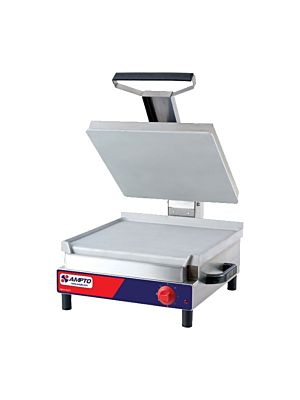 "Ampto SSGL 17""x 18"" Electric Flat Sandwich Grill - FREE SHIPPING"