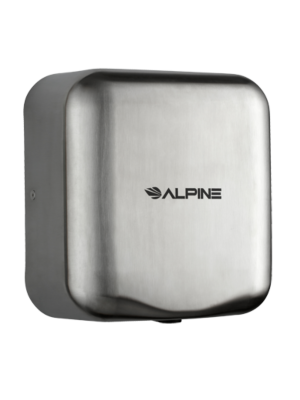 Alpine 400-10-SSB Hemlock Heavy Duty, 110-120V, Stainless Steel, Automatic Hand Dryer - Stainless Steel Brushed - FREE SHIPPING