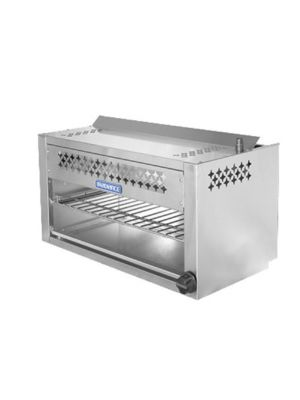 Turbo Air TACM-24 Radiance Series Stainless Steel Gas Cheesemelter - 20,000 BTU