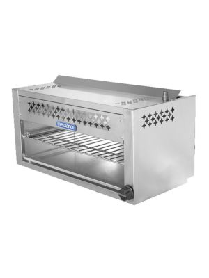 Turbo Air TACM-36 Radiance Series Stainless Steel Gas Cheesemelter - 35,000 BTU