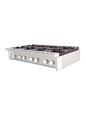 Turbo Air TAHP-48-8 Radiance Countertop Hot Plate - 256,000 BTU