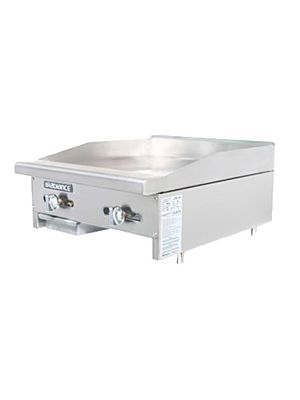 "Turbo Air TAMG-24 Radiance Series 24"" Manual Gas Griddle – 44,000 BTU"