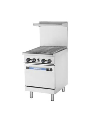 "Turbo Air TAR-24RB Radiance Series 24"" Radiant Broiler Top Gas Restaurant Range - 72,000 BTU"