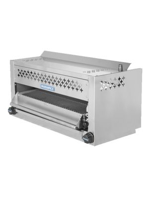 "Turbo Air TASM-36 Radiance Series 36"" Stainless Steel Salamander - 35,000 BTU"