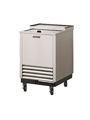 "Turbo Air TBC-24SD-GF-N6 24"" Super Deluxe Stainless Steel Self-Contained Glass Chiller & Froster - FREE SHIPPING WITHOUT LIFTGATE"