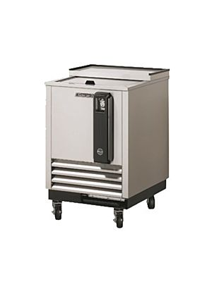 "Turbo Air TBC-24SD-N6 24"" Super Deluxe Stainless Steel Self-Contained Bottle Cooler - FREE SHIPPING WITHOUT LIFTGATE"