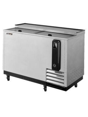 "Turbo Air TBC-50SD-N6 50"" Super Deluxe Stainless Steel Self-Contained Bottle Cooler - FREE SHIPPING WITHOUT LIFTGATE"