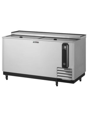 "Turbo Air TBC-65SD-N6 65"" Super Deluxe Stainless Steel Self-Contained Bottle Cooler - FREE SHIPPING WITHOUT LIFTGATE"