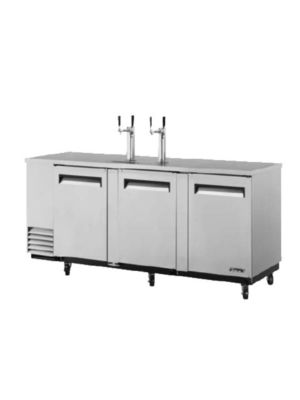 Turbo Air TBD-4SD-N Super Deluxe Stainless Steel Four-Keg Beer Dispenser - FREE SHIPPING WITHOUT LIFTGATE
