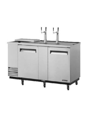 Turbo Air TCB-3SD-N6 Super Deluxe Stainless Steel Three-Keg Club Top Beer Dispenser/Cooler - FREE SHIPPING WITHOUT LIFTGATE