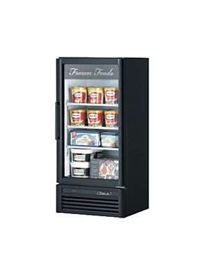 Turbo Air TGF-10SD-N Super Deluxe One-Section Glass Merchandiser Freezer - FREE SHIPPING WITHOUT LIFTGATE