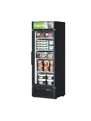Turbo Air TGF-15SD-N Super Deluxe One-Section Glass Merchandiser Freezer - FREE SHIPPING WITHOUT LIFTGATE