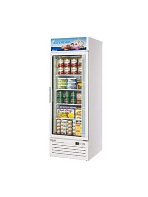 Turbo Air TGF-23F-N One-Section Glass Door Freezer Merchandiser - FREE SHIPPING WITHOUT LIFTGATE