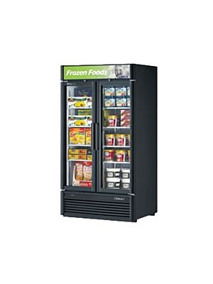 Turbo Air TGF-35SD-N Super Deluxe Two-Section Glass Merchandiser Freezer - FREE SHIPPING WITHOUT LIFTGATE