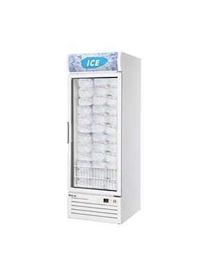Turbo Air TGIM-23W-N One-Section Glass Door Ice Merchandiser - FREE SHIPPING WITHOUT LIFTGATE
