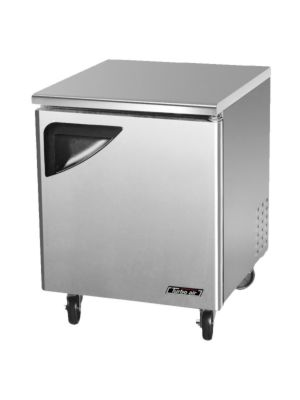 Turbo Air TUF-28SD-N One-Door Reach-In Super Deluxe Undercounter Freezer - FREE SHIPPING WITHOUT LIFTGATE