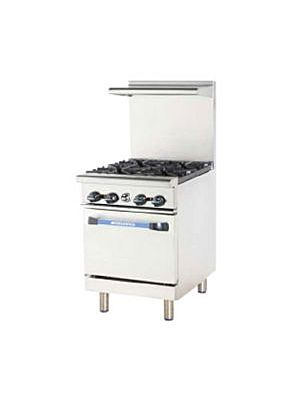 Turbo Air Radiance 4 Burner Heavy Duty Restaurant Range (TAR-4)