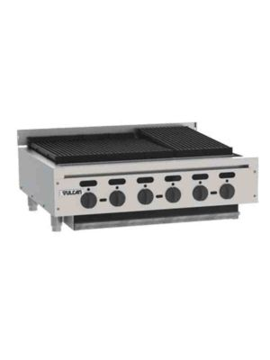 """Vulcan VACB36-101 36"""" Achiever Charbroiler, Natural Gas - Free Shipping Without Liftgate!"""