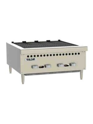 """Vulcan VCRB25-1 25"""" Medium Duty Countertop Charbroilers - Free Shipping Without Liftgate!"""