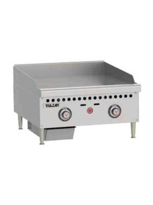 """Vulcan VCRG24-T1 24"""" Medium Duty Countertop Griddle - Free Shipping Without Liftgate!"""