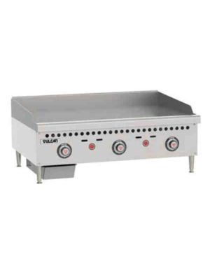 """Vulcan VCRG36-T1 36"""" Medium Duty Countertop Griddle - Free Shipping Without Liftgate!"""