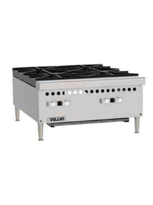 "Vulcan VCRH24-1 24"" Medium Duty Countertop Hotplate - Free Shipping Without Liftgate!"
