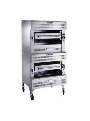 Vulcan VIR2 V Series Double Deck Up-Right Broiler, Gas 200,000 BTU
