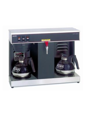 Bunn 07400.0005 / VLPF Automatic Low Profile Brewer, 2 Warmers, Single Brewer