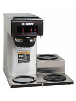 Bunn 13300.0003 / VP17-3-0004 Pourover Coffee Brewer, 3 Lower Warmers
