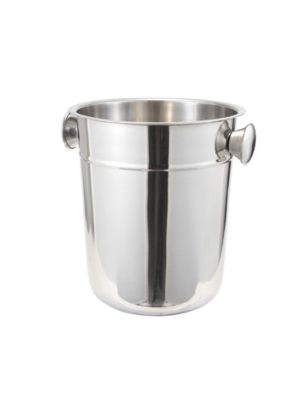 Winco WB-8 8 Qt, Stainless Steel Wine Bucket