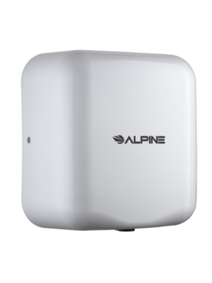 Alpine 400-20-WHI Hemlock Heavy Duty, 220/240V, Stainless Steel, Automatic Hand Dryer - White - FREE SHIPPING