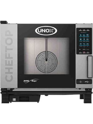 Unox XAVC-0511-GPR Countertop Combi Oven, Gas with Installation Kit