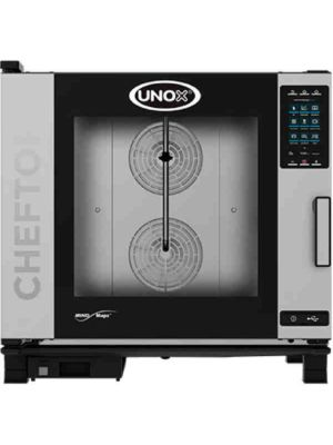Unox XAVC-06FS-HPR Countertop Combi Oven, High Voltage Electric with Installation Kit