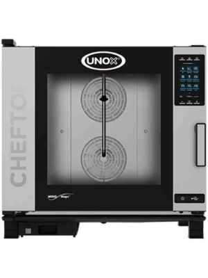 Unox XAVC-06FS-GPR Countertop Combi Oven, Gas with Installation Kit