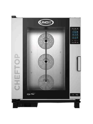 Unox XAVC-10FS-HPR Countertop Combi Oven, High Voltage Electric with Installation Kit
