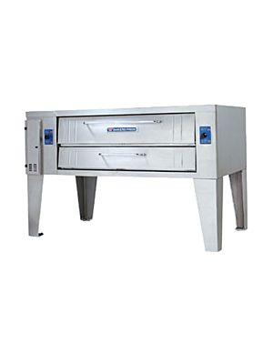 "Bakers Pride Y-800 Gas Single Deck Pizza Oven - SUPERDeck Series 84"" - 120,000 BTU"
