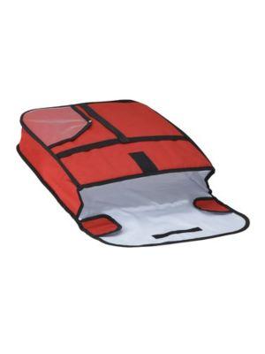 """Winco BGPZ-18 18"""" Insulated Pizza Delivery Bag"""