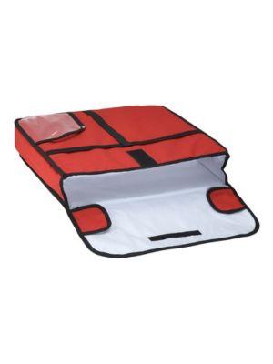 """Winco BGPZ-20 20"""" Insulated Pizza Delivery Bag"""
