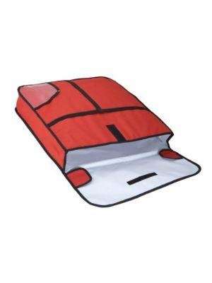 """Winco BGPZ-24 24"""" Insulated Pizza Delivery Bag"""