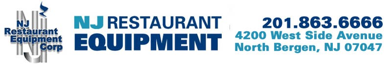 NJRE- New Jersey Restaurant Equipment Online Store
