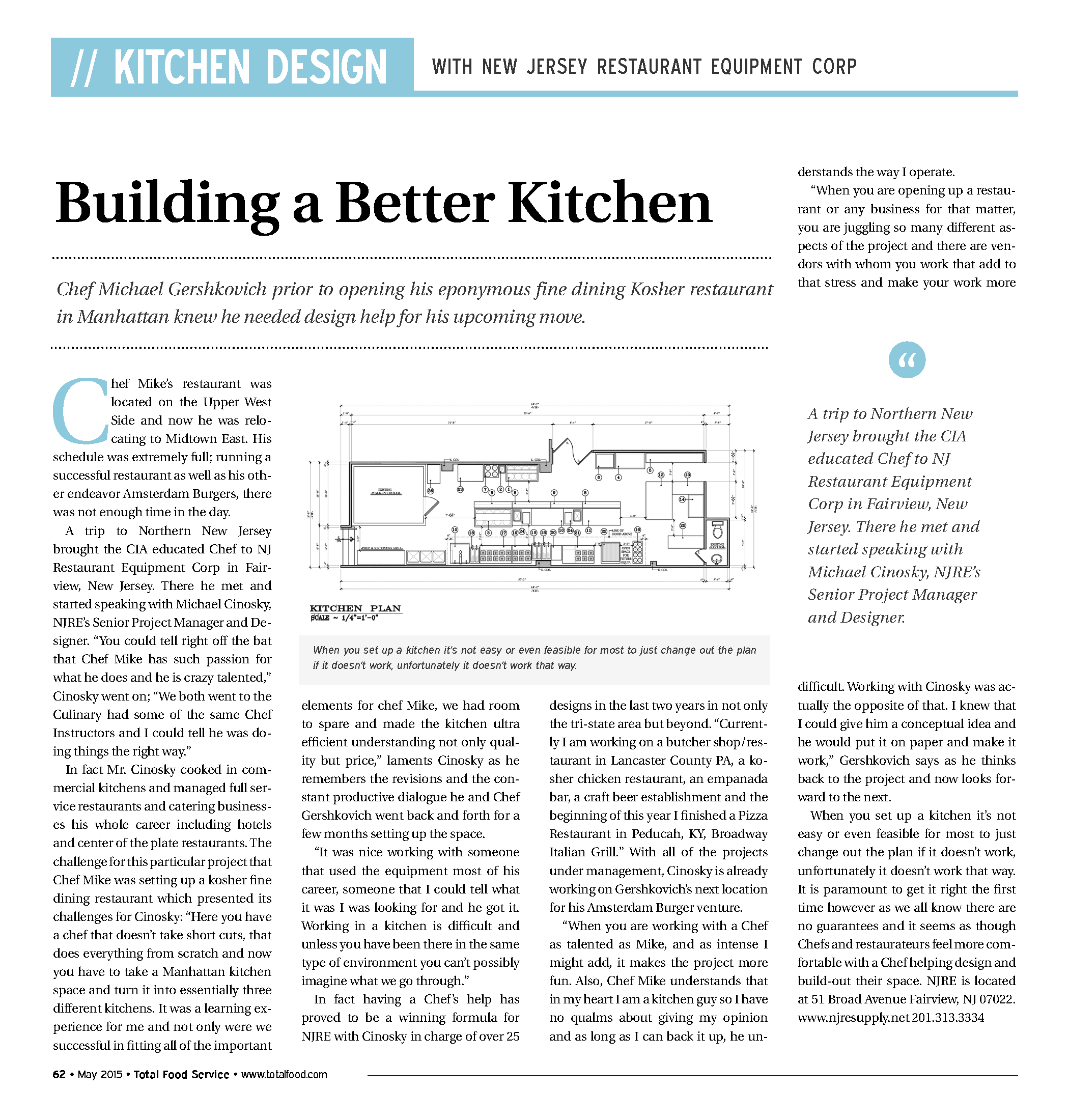 Building a Better Kitchen