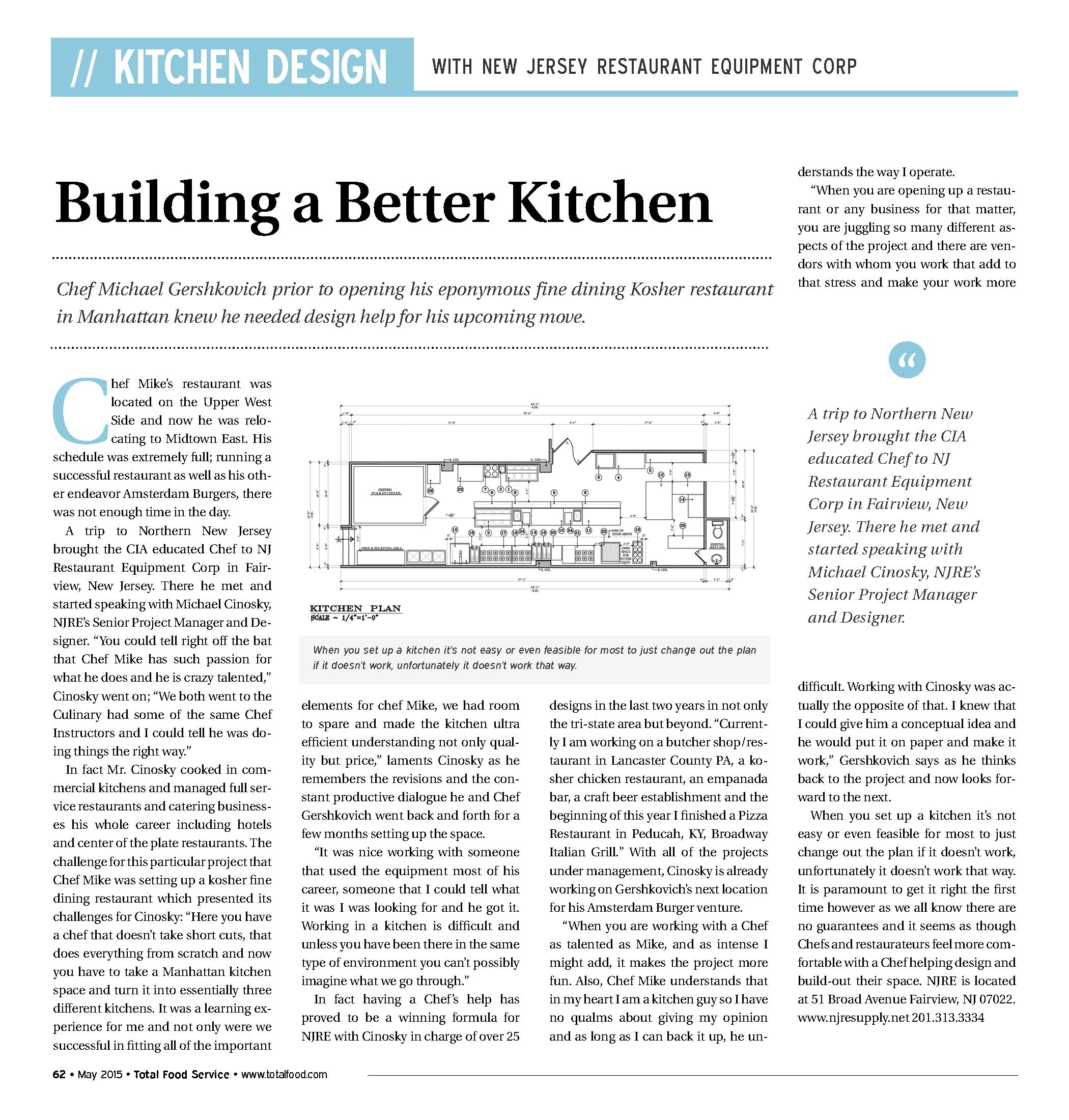 Building a Better Kitchen