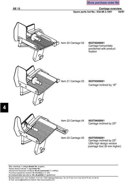 SE12.SpecSheet.2 refurbished bizerba se12 manual gravity feed meat cheese slicer bizerba se12 wiring diagram at bayanpartner.co
